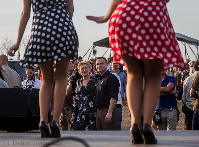 Prezydent Andrzej Duda z wizytą w Borach Tucholskich